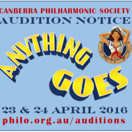 Auditions for Anything Goes